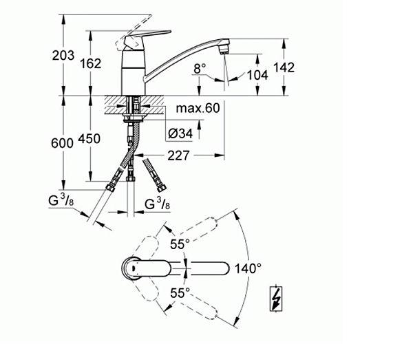 EUROSMART COSMO SUDOP. 3 CEVI 31179000