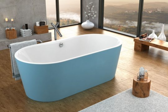 KADA COMODO-FS 185X90/O WHITE BLUE 961910