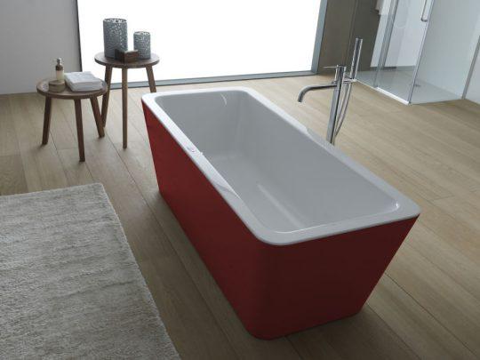 KADA EROICA-FS 180X80/O WHITE RED 596330