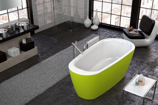 KADA ADONIS-FS 180X80/O WHITE GREEN 569350