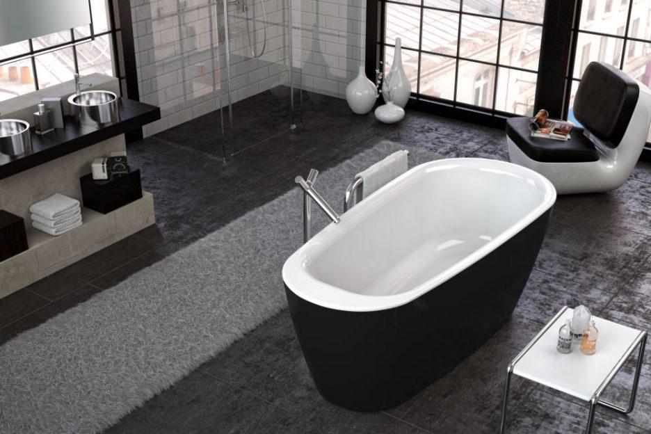 KADA ADONIS-FS 180X80/O WHITE BLACK 936280