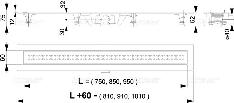 SLIVNIK ALCA-750MM APZ9