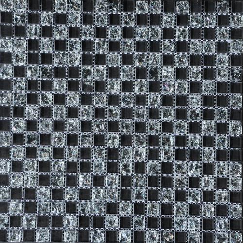 ST. MOZAIK BLACK 007 30X30
