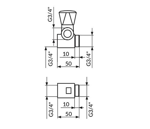 PRIKLJUCAK ZA VM 3/4 ROSAN A56134
