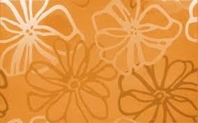 Dekor fresh naranja cvet 25x40