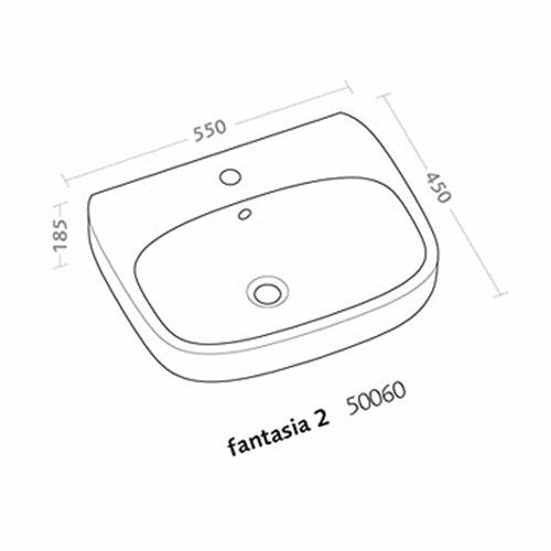 FANTASIA 2 LVB 55CM 50060