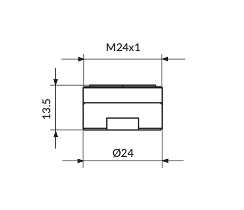 PERLATOR NEOPERL N24 CASCADE SLC-GUMA PPM24SLC
