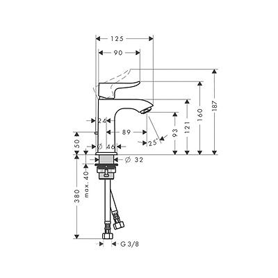 HG METRIS 100 ZA LVB 31088000
