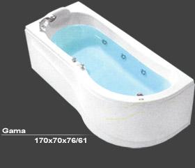 KADA GAMMA 170X71,5 HIDRO-AERO