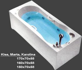 KADA KAROLINA 160X70 HIDRO-AERO