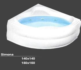 KADA SIMONA 140X140 HIDRO-AERO
