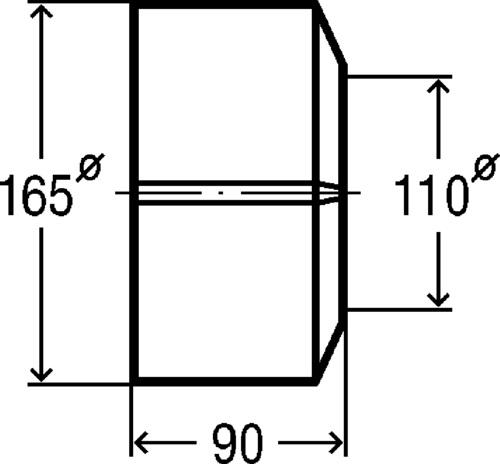 ROZETNA FI 110 VIEGA PVC 101343