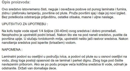 CISTAC LAMINATA 1L 409