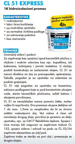 HENKEL CL 51-FLEX.HIDROIZOLACIJA 15/1