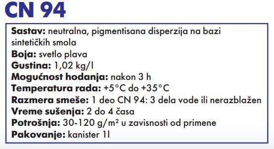 PODLOGA ZA PLOCICE CM 94