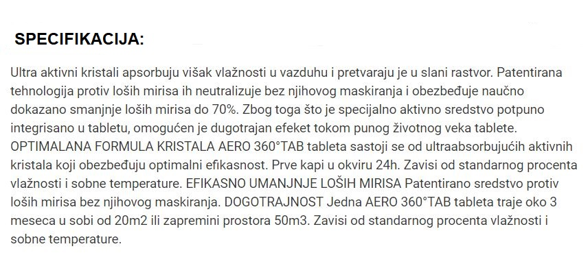 STOP AERO DEV 450 G/BG/CS/RO