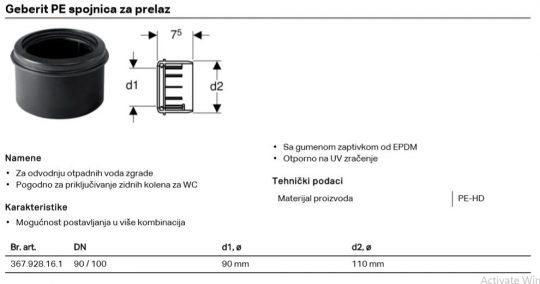 PE REDUKCIJA FI 90/110 GEB 367.928.16.1