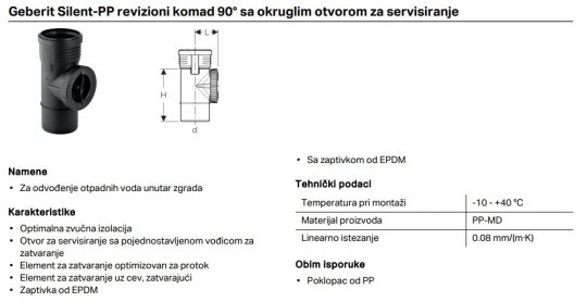 PP SILENT REVIZIJA FI 160 GEB