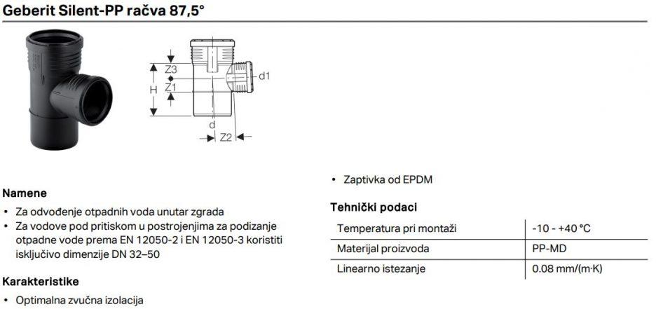 PP SILENT T RACVA FI 90/50 GEB 390.448.14.1