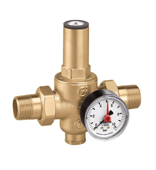 REGULATOR PRITISKA 1/2 CALEFFI SA MANOM.