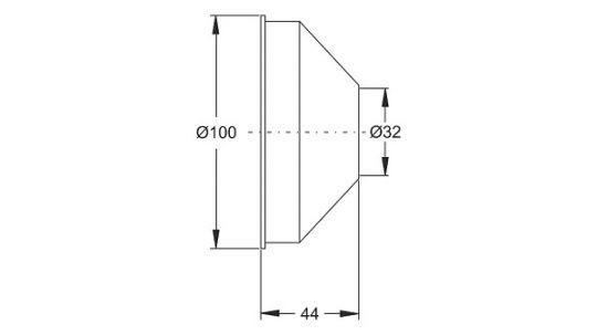 ROZETNA CH DUBLJA BONOMINI 8801CR32B7