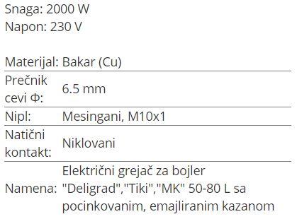 GREJAC 2KW MAGNOHROM – TIKI GB-2000W 1003