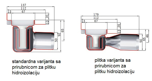 SLIVNIK ACO CLASIC 585MM 407715
