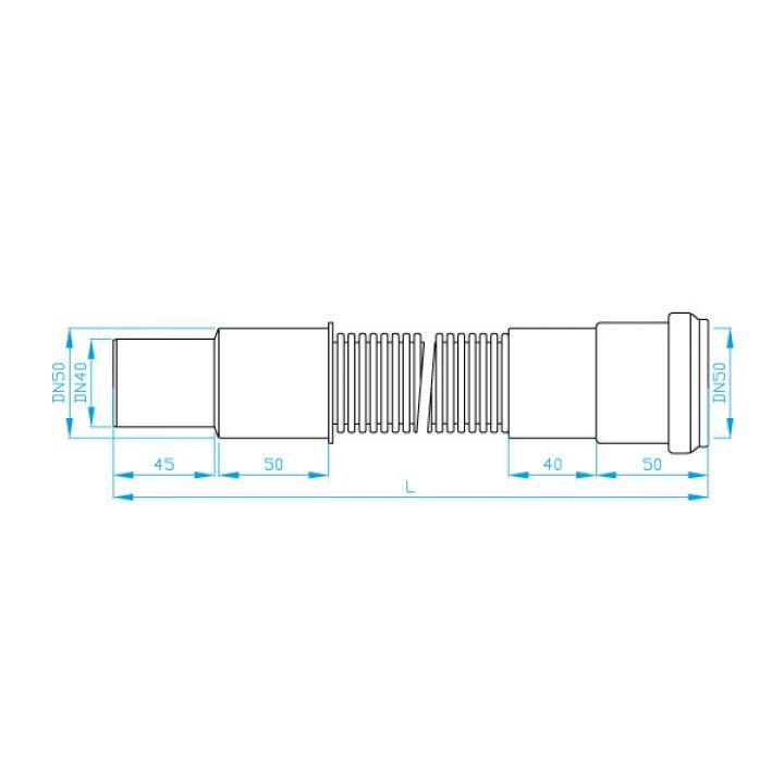 CEV ELASTICNA 50/40 L-250 BRNO 1020